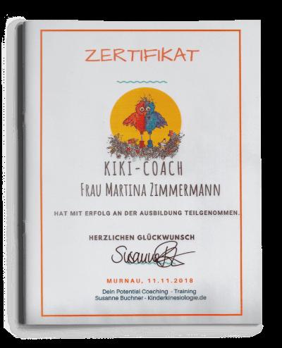 Zertifikat KiKi-Coach
